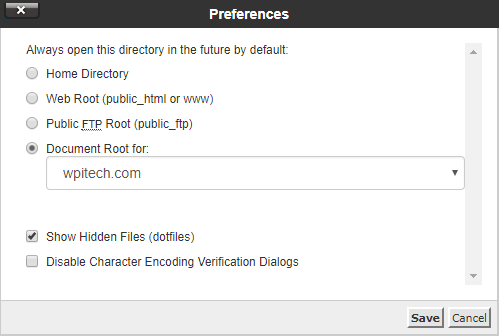 Domain Preferences