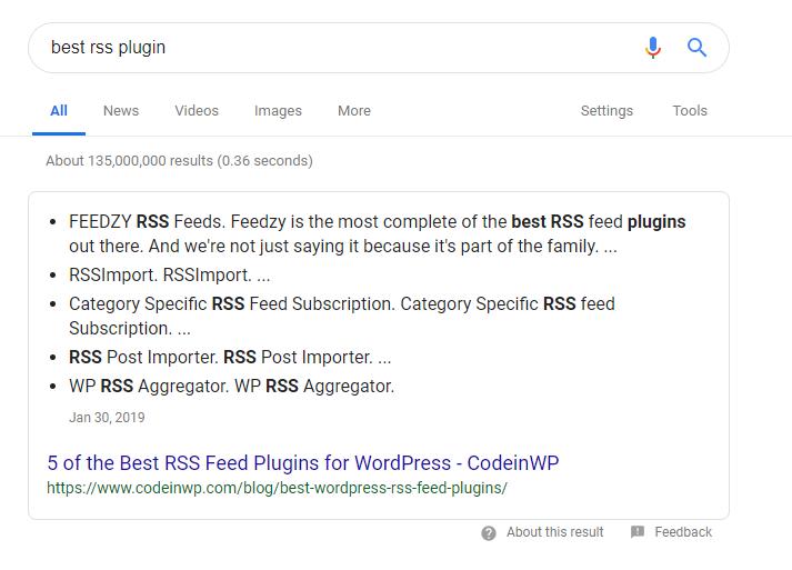 best rss plugin