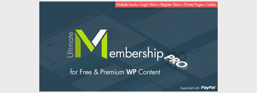 Definitive Plugin for Professional Membership Sites with WordPress