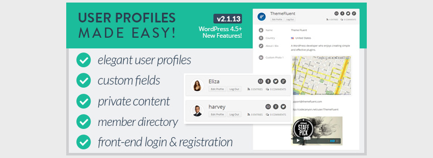 Simple User Profiles Creation