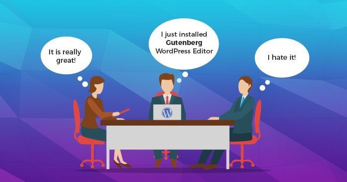 Gutenberg after its release in WordPress community